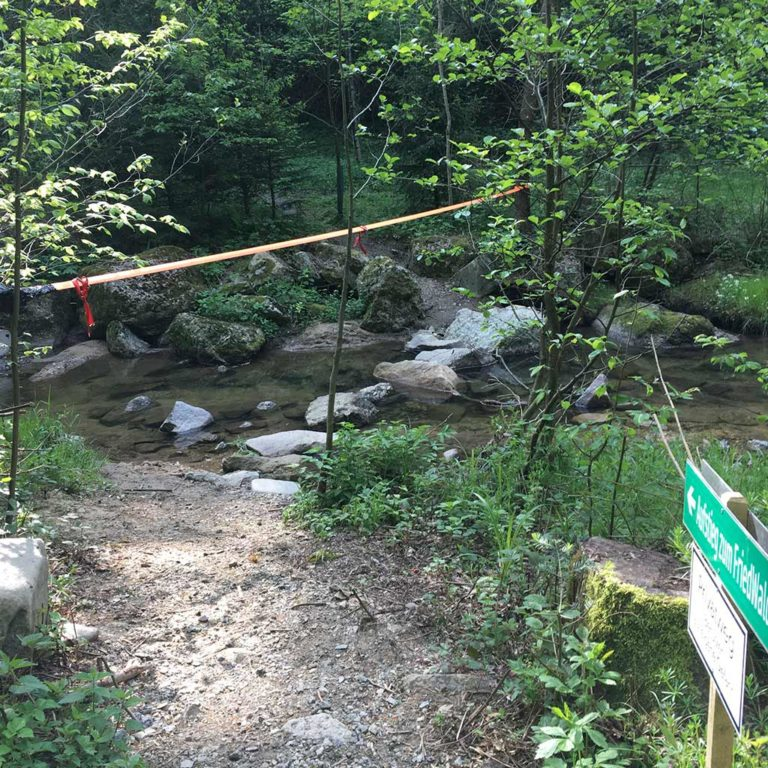 Friedwaldaufstieg