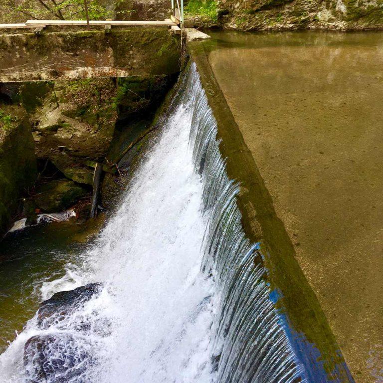 Wasserfall Klamschlucht